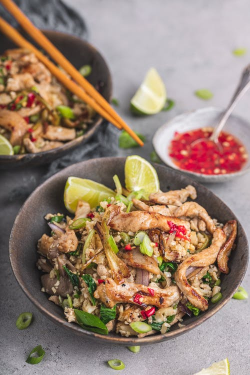 Low-carb fried rice